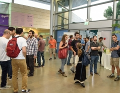 Joint event of the Alumni Organization of the Weizmann institute of Science and WorldQuant Research (Israel) LTD. for Computer Science, Mathematics & Physics Alumni picture no. 8