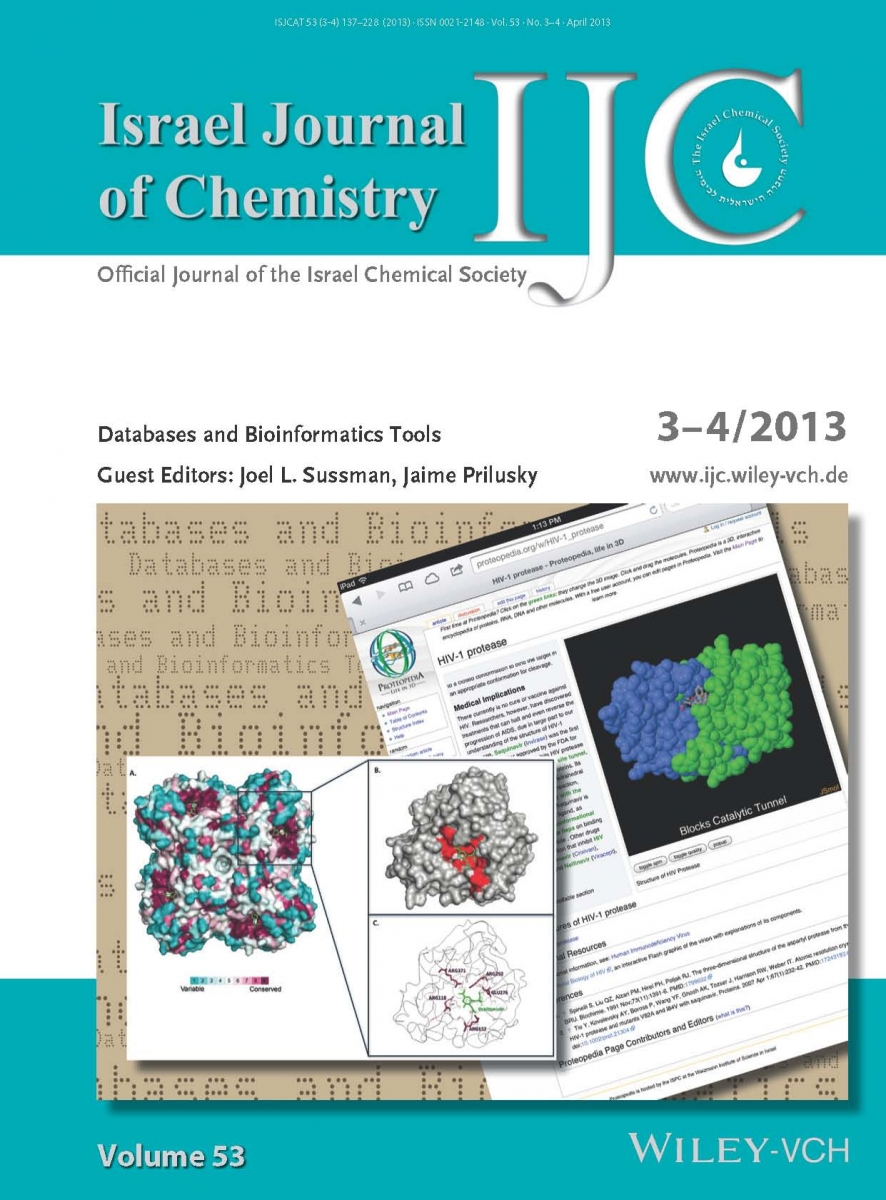 IJC - Israel Journal of Chemistry - Book Cover