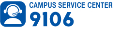 Campus Service Center Phone 9106