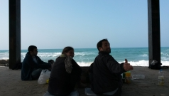 Picnic at the beach, February 2014 picture no. 3