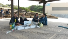 Picnic at the beach, February 2014 picture no. 12