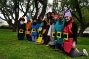 Purim 2020: Snowwhite and 7 dwarfs :)