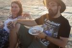 Palmachim beach barbecue - farewell to Shachar- 2015 picture no. 16