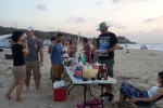 Palmachim beach barbecue - farewell to Shachar- 2015 picture no. 17