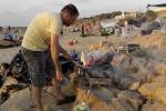 Palmachim beach barbecue - farewell to Shachar- 2015 picture no. 3