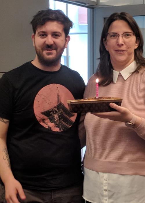 Happy birthday Mattia and Yifat!