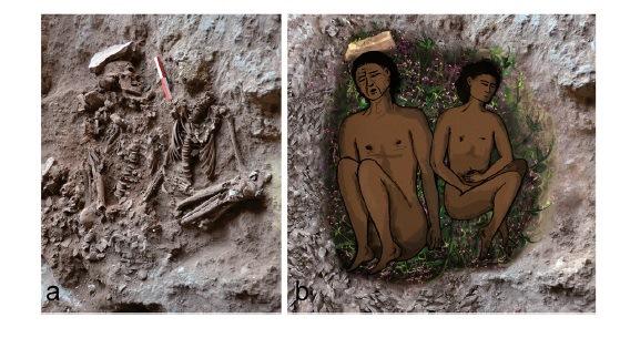 מדענים מאוניברסיטת חיפה וממכון ויצמן גילו שכבר לפני יותר מ-11,000 שנים נהגו להניח פרחים בקברי המתים