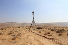 The Mobile Lab -Yatir desert June 2011 picture no. 2