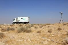 The Mobile Lab -Yatir desert June 2011 picture no. 5