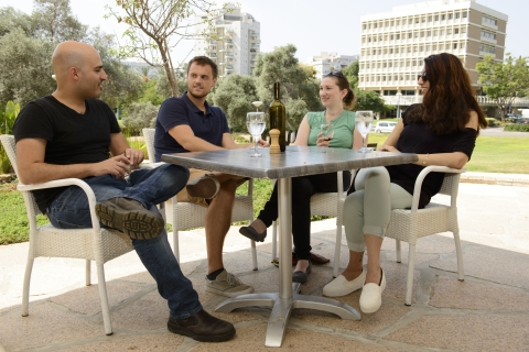 International postdocs on the Weizmann Institute campus