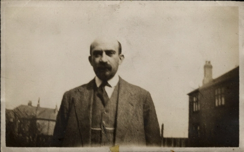 Dr. Chaim Weizmann at the University of Manchester