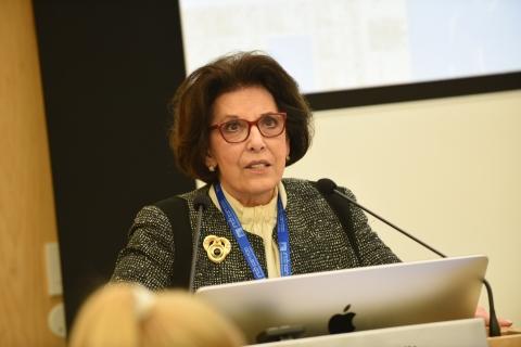 ACWIS President Ellen Merlo