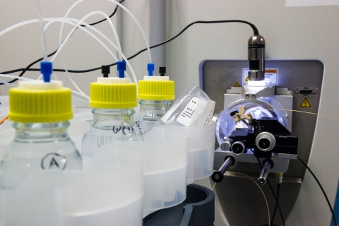 Inside the de Botton Institute for Protein Profiling