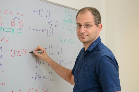 Dr. Erez Berg will host the second workshop, on subject of quantum states of matter.