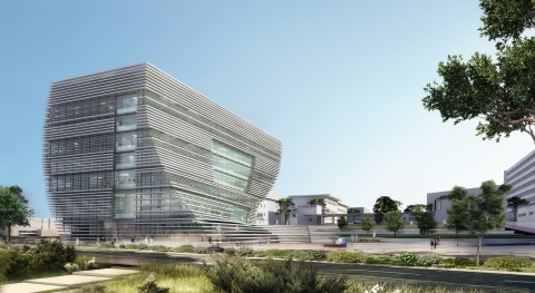 Architectural rendering of the Deloro Building