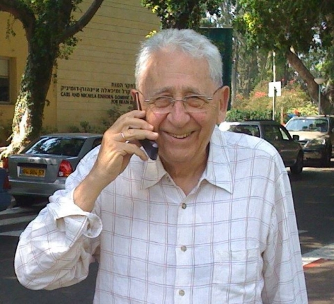 Prof. Bruno Yaron, a pioneer in the study of soil chemistry, has been a consultant to the Weizmann Institute since 2002. Together with Prof. Berkowitz and Dr. Dror, he has shown how man-made contaminants left in the soil pose a significant environmental threat.