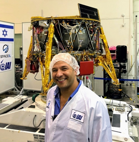 SpaceIL's Mission Scientist Prof. Oded Aharonson of the Weizmann Institute.
