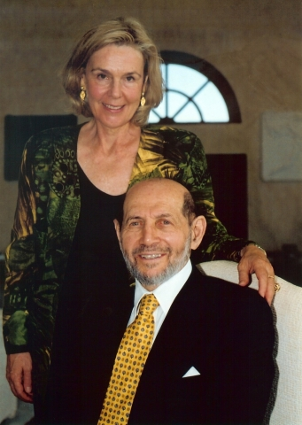 Patricia Gruber and her late husband Peter
