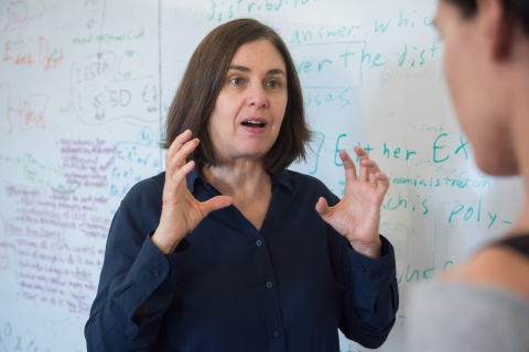 "Prof. Shafi Goldwasser: ""Women and male scientists alike have a responsibility to mentor promising women scientists."""