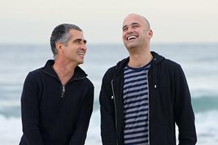 Prof. Ilan Koren (Left) and Dr. Assaf Vardi (Right)