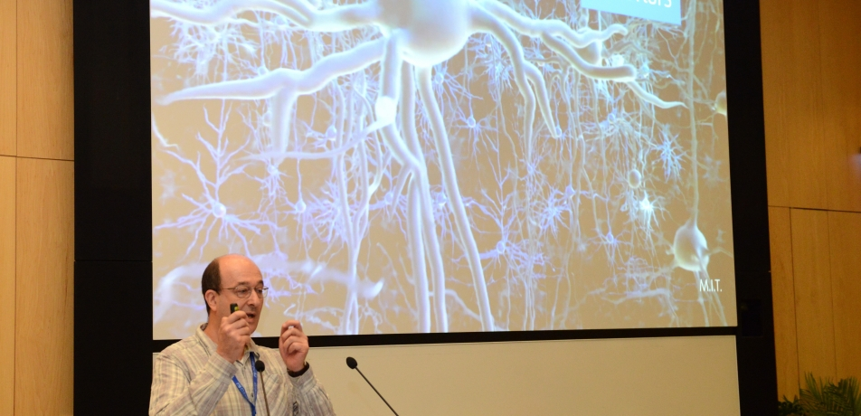 Prof. Nachum Ulanovsky addresses the International Board.