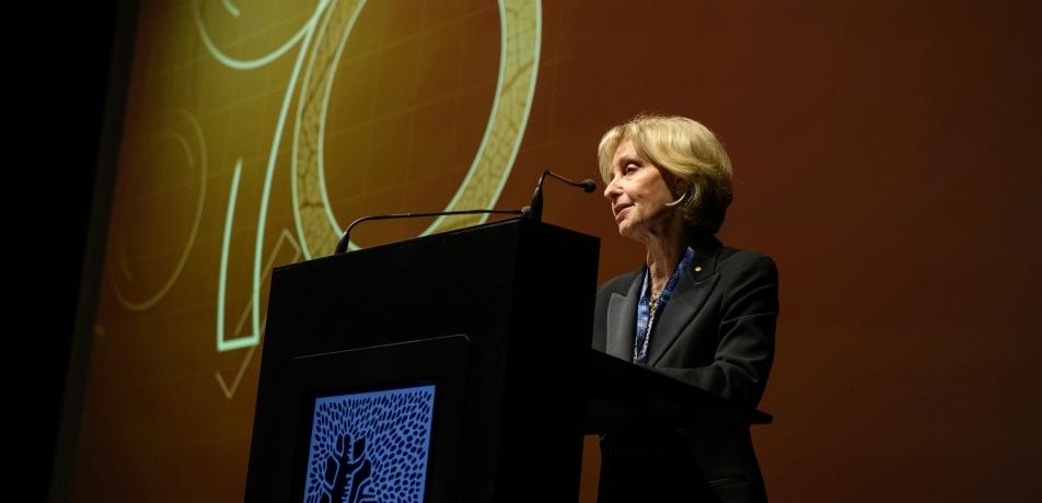Jillian Segal at the 2019 Annual General Meeting of the International Board