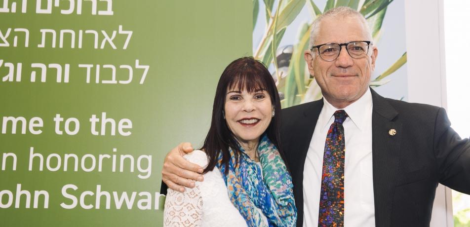 Vera and Dr. John Schwartz