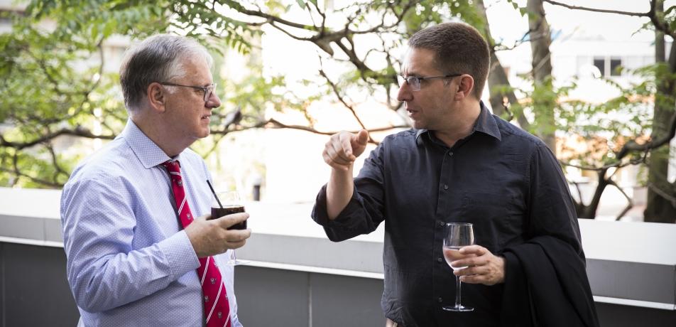 Dr. Dan Andreae (left) and Dr. Ivo Spiegel