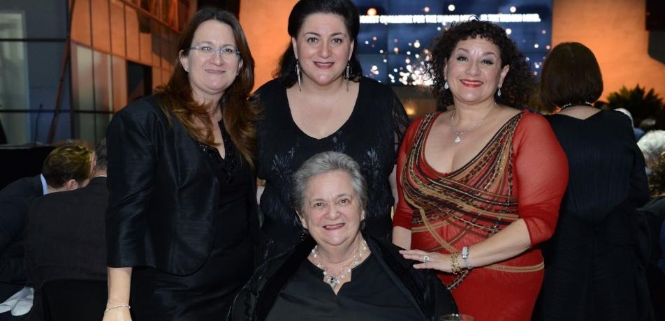 Standing L-R: Danna, Naomi, and Sharon Azrieli. Seated: Stephanie Azrieli.