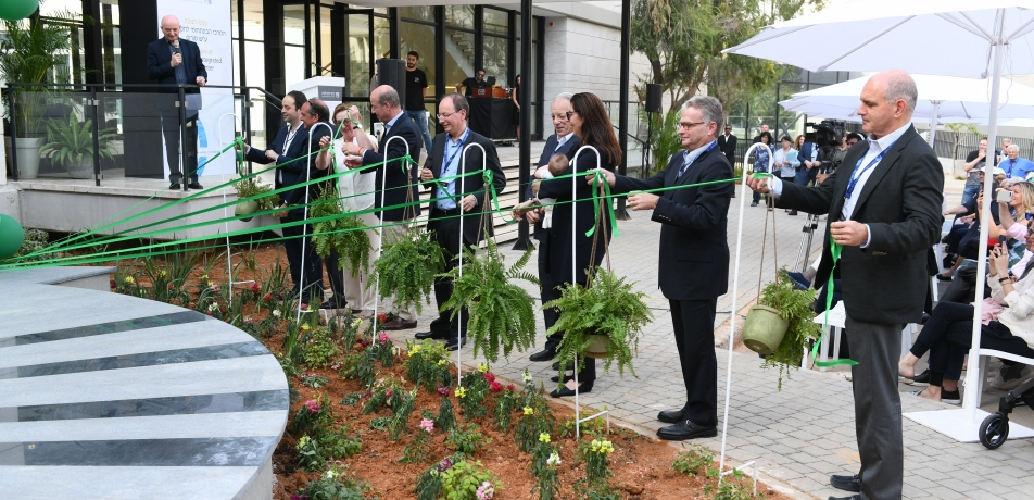 The ribbon-cutting ceremony for the Moross Integrated Cancer Center