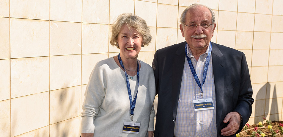 Barbara and Roberto Kaminitz
