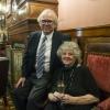 Prof. Ada Yonath and Mr. Ruben Lerner