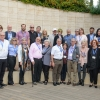 Mission participants on the Weizmann Institute campus