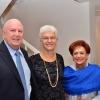 L to R: Martin Kushner, Dr. Rodica Radian-Gordon, and Martha Flisser
