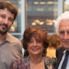 (L-R) Dr. Abramson with Marika and Bill Glied, generous supporters of autoimmune disease research.