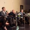 g L to R: David Blatt, Prof. Zajfman, Dita Bronicki, Meir Shalev