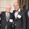 (L-R) Mark Feldman, Senior Vice President, Financial Resource Development, American Committee; Ted Teplow, American Committee Board lifetime member; Prof. Israel Bar-Joseph; and American Committee President David Teplow at the Harvard Club of Boston.