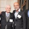 (L-R) Mark Feldman, Senior Vice President, Financial Resource Development, American Committee; Ted Teplow, American Committee Board lifetime member; Prof. Israel Bar-Joseph; and American Committee President David Teplow at the Harvard Club of Boston.