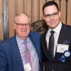 L-R: Weizmann Canada friends Dr. Dan Andreae and Zach Schwartz