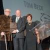 L to R: Tom Beck; Prof. Daniel Zajfman; Cathy Beck