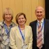 (L-R) Dr. Judy Dangoor, Prof. Elisabetta Boaretto, Mr. David Dangoor