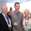 (L-R) Harvey Knell, Prof. Rotem Sorek, and Dr. Ellen Knell