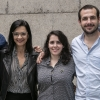 (L-R): Rafael Stern, Kelly Avidan, Michal Shaked, and Andres Goldman on the Scientists of Tomorrow Tour to Argentina and Brazil.