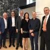 L to R: Werner Bachmann, Andreas Näscher, Lothar Ritter, Rita Kieber-Beck, Dr. Daniel Harari and Michael Hanke from the University of Vaduz.