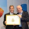(L-R) Marshall Levin and Prof. Daniel Zajfman