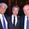 (L-R) Alain Grossman, David Weizmann, Prof. Daniel Zajfman