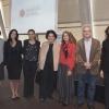 L to R: Prof. Goldfarb; postdoctoral fellows Drs. Shiri Gur-Cohen and Anat Biran; Ellen Merlo; Prof. Neeman; Prof. Dudai; and Prof. Alberini.