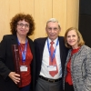 (L-R) Dr. Sharon Wolf, Shimon and Golde Picker.
