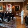 Greetings by Princess Massimilia von Fuerstenberg