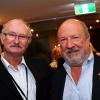 L to R: Prof. Moshe Oren; Weizmann Australia board member Jeffrey Mahemoff